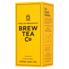 Brew Tea Co English Breakfast Loose Leaf Tea