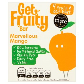 Get Fruity Marvellous Mango Fruit Oat Bars