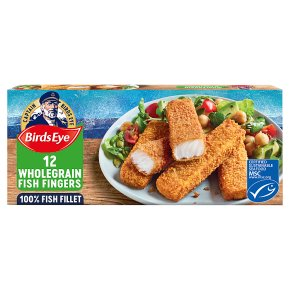 Birds Eye 12 Wholegrain Fish Fingers