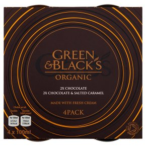 Green & Black's 2 Chocolate 2 Salted