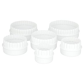 essential Waitrose cutter, set of 6
