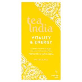 Tea India Vitality & Energy 40s