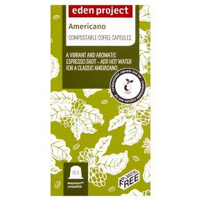 Eden Project Americano Coffee Capsules