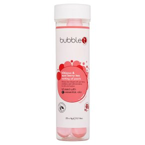 Bubble T Hibiscus Oil Pearls