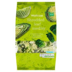 Waitrose Shredded Leaf Medley