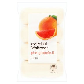 essential Waitrose Grapefruit Soaps