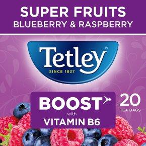 Tetley Super Fruits Boost 20 Tea Bags