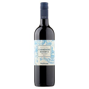 Waitrose Reserva Carmenere Chilean Red Wine