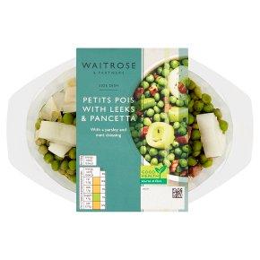 Waitrose Petit Pois with Leeks & Pancetta