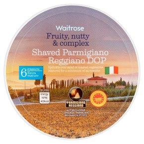 Waitrose Shaved Parmigiano Reggiano DOP Strength 6