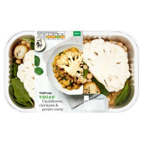 Waitrose Vegan Cauliflower & Chickpea Curry
