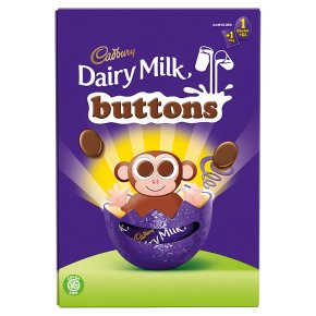Cadbury Dairy Milk Buttons Small Chocolate Easter Egg