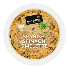 Unearthed Spanish Spinach Omelette