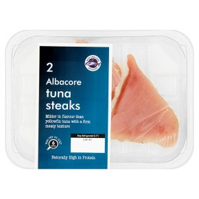 New England Seafood 2 Albacore Tuna Steaks