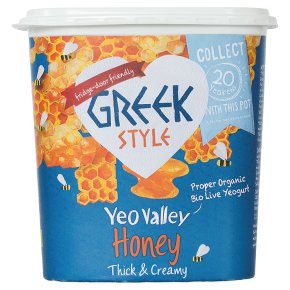 YVO Organic Greek Style with Honey Yog