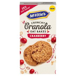 McVitie's Cranberry Granola Oat Bakes