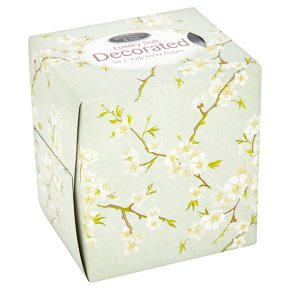 Bloomsbury & Tate Decorated Luxury Facial Tissues