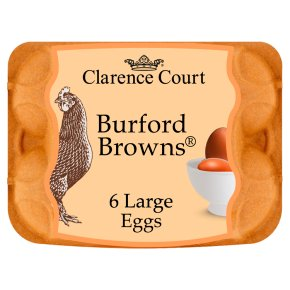 Clarence Court Large Burford Browns Free Range Eggs