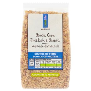Waitrose LOVE Life Freekeh & Quinoa