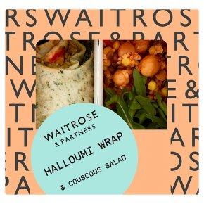 Waitrose Halloumi Wrap