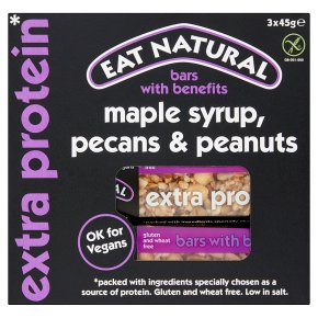 Eat Natural Maple Syrup Pecans Peanuts