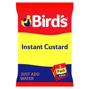 Bird's instant custard