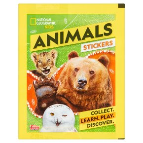 National Geographic Animal Stickers Packet