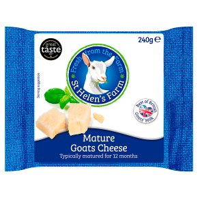 St Helen's Farm Mature Goats Cheese