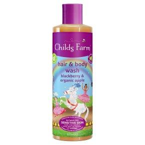 Childs Farm Hair & Body Wash Blackberry
