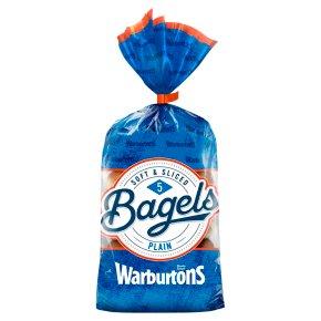 Warburtons Bagels Plain
