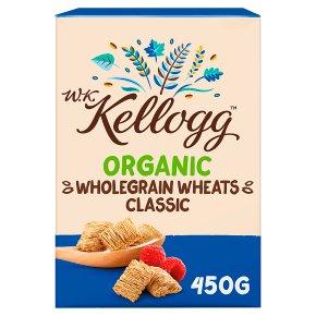W.K. Kellogg Cereal Organic Wholegrain Wheats Classic