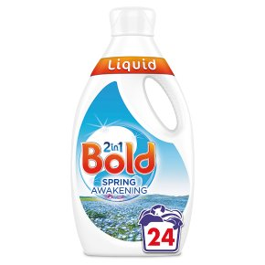 Bold 2in1 White Lily & Crystal Rain Washing Liquid 24 washes
