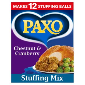 Paxo Chestnut & Cranberry Stuffing Mix