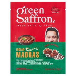 Green Saffron Indian Madras Spice
