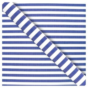 Waitrose Gift Wrap Nautical Stripe