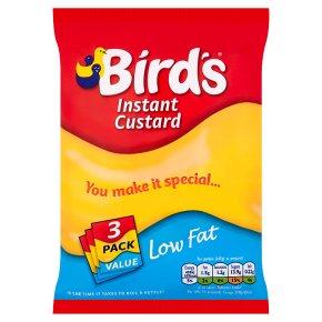 Bird's instant custard low fat