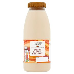 Waitrose Caramel Fudge Flavoured Milk