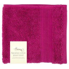 Waitrose Home Egyptian Cotton Towel Raspberry