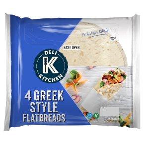 Deli Kitchen Greek Style Flatbreads