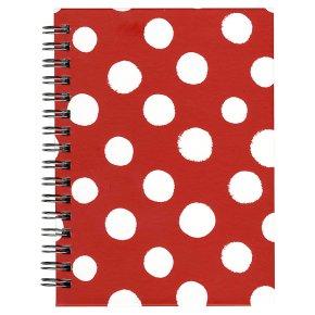 essential Waitrose spot A6 wiro book