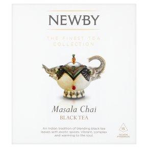 Newby masala chai 15 silken pyramids