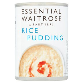 essential Waitrose rice pudding
