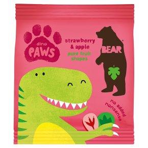Bear dino paws strawberry & apple