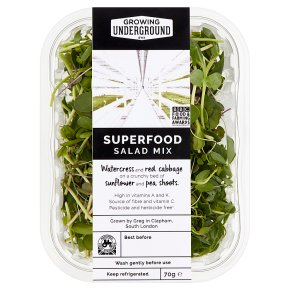 Growing Underground Superfood Salad Mix
