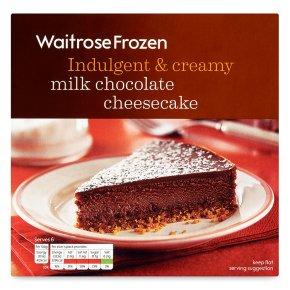 Waitrose Frozen milk chocolate cheesecake