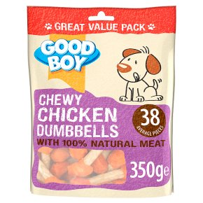 Good Boy Chicken Dumbbells