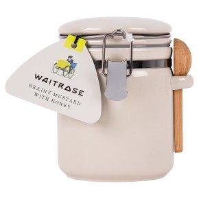 Waitrose Grainy Mustard with Honey