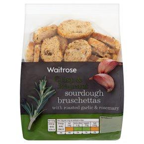 Waitrose sourdough bruschettas