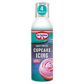Dr. Oetker Easy Swirl Pretty Pink Cupcake Icing