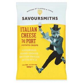 Savoursmiths Italian Cheese & Port Crisps